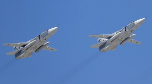 2621704 05/09/2015 Tupolev Tu-22M3 Backfire strategic bombers at the military parade to mark the 70th anniversary of Victory in the 1941-1945 Great Patriotic War. Anton Denisov/Host photo agency